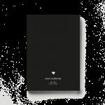 amor en diferido negro libro mockup